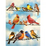 Puzzle  Cobble-Hill-52093 XXL Teile - Birds on a Wire