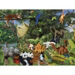Puzzle  Cobble-Hill-54565 Noahs Versammlung