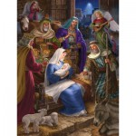 Puzzle  Cobble-Hill-54586 Holy Night