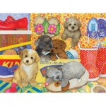 Puzzle  Cobble-Hill-54587 XXL Teile - Amy Rosenberg - Hush Puppies