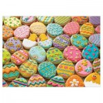 Puzzle  Cobble-Hill-54600 XXL Teile - Family - Easter Cookies