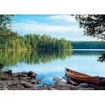 Puzzle  Cobble-Hill-57192 Spiegel der Natur