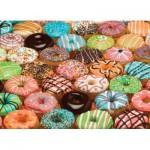 Puzzle  Cobble-Hill-70028 Doughnuts