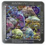 Piatnik-02120 Magna Puzzle - Chamäleon