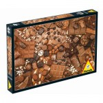 Puzzle  Piatnik-5382 Schokolade !