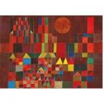 Puzzle  Piatnik-5464 Paul Klee - Burg und Sonne