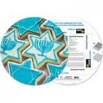 Pigment-and-Hue-RCHK-41204 Fertiges Rundpuzzle - Cookies Chanukah