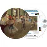 Pigment-and-Hue-RDEGAS-41203 Fertiges Rundpuzzle - Edgar Degas: Tanzstunde