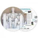 Pigment-and-Hue-RLINC-41201 Fertiges Rundpuzzle - Lincoln Memorial