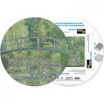 Pigment-and-Hue-RMONET-41207 Fertiges Rundpuzzle - Claude Monet