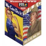 Pigment-and-Hue-XROSIE-01203 Beidseitiges Puzzle - Amerikanische Frauen im 2ten Weltkrieg