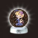 Pintoo-A2396 Puzzlekugel aus Kunststoff - Nachtlicht - Sternzeichen: Skorpion