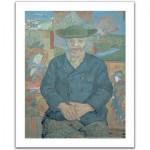 Pintoo-H1075 Puzzle aus Kunststoff 500 Teile - Vincent Van Gogh: Le père Tanguy