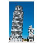 Pintoo-H1265 Puzzle aus Kunststoff - Schifer Turm von Pisa, Italien