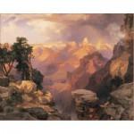 Puzzle  Pomegranate-AA312 Thomas Moran: Grand Canyon with Rainbow