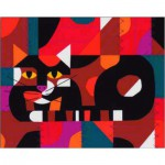 Puzzle  Pomegranate-AA764 Edie Harper: Crazy Cat, Crazy Quilt