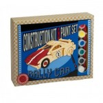 3D Puzzle aus Holz + Farben - Rally Car
