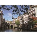 Puzzle  PuzzelMan-424 Die Niederlande, Utrecht: Blick auf den Kanal