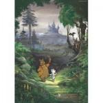 Puzzle  PuzzelMan-455 Marten Toonder - M. Bommel: Im Wald
