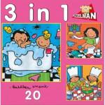 PuzzelMan-640 Noa: 3 Puzzles in 1