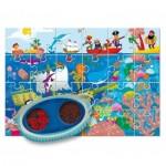 Ludattica-58228 XXL Teile - Secret Puzzle: The Sea