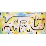 Puzzle-Michele-Wilson-A182-80 Puzzle aus handgefertigten Holzteilen - Paul Klee: Insula Dulcamara