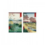 Puzzle-Michele-Wilson-A198-500 Puzzle aus handgefertigten Holzteilen - Hiroshige