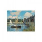 Puzzle-Michele-Wilson-A246-1000 Puzzle aus handgefertigten Holzteilen - Claude Monet: Die Brücke von Argenteuil