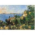 Puzzle-Michele-Wilson-A457-150 Puzzle aus handgefertigten Holzteilen - Cézanne