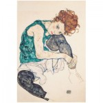 Puzzle  Puzzle-Michele-Wilson-A474-80 Egon Schiele - Sitzende Frau mit gebeugten Knie, 1917