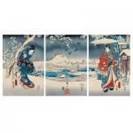Puzzle-Michele-Wilson-A541-2500 Holzpuzzle - Hiroshige Utagawa: Genji