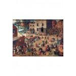 Puzzle-Michele-Wilson-A904-500 Puzzle aus handgefertigten Holzteilen - Brueghel: Die Kinderspiele