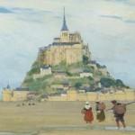 Puzzle-Michele-Wilson-Cuzzle-Z43 Holzpuzzle - Mont Saint Michel