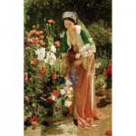 Puzzle-Michele-Wilson-H204-200 Puzzle aus handgefertigten Holzteilen - Lewis: Im Garten
