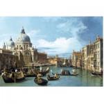 Puzzle aus handgefertigten Holzteilen - Canaletto