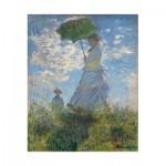 Puzzle aus handgefertigten Holzteilen - Claude Monet : La Femme à l'Ombrelle, 1875