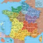 Puzzle aus handgefertigten Holzteilen - Frankreichkarte, 1 Departement = 1 Teil