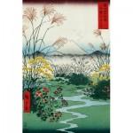 Puzzle aus handgefertigten Holzteilen - Hiroshige