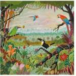 Puzzle en Bois - Alain Thomas: Jungle