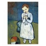 Puzzle  Puzzle-Michele-Wilson-W165-24 Pablo Picasso: Kind mit Taube