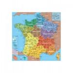 Puzzle-Michele-Wilson-W80-24 Puzzle aus Holz 24 handgefertigte Teile MAXI - Michèle Wilson - Frankreichkarte