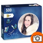 PP-Photo-Rond-500 500 Teile Fotopuzzle - Rund