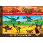 Ravensburger-05393 Riesen-Bodenpuzzle - Deadliest Dinosaurs