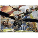 Ravensburger-05435 Riesen-Bodenpuzzle - Dragons