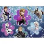 Ravensburger-05437 Riesen-Bodenpuzzle: Frozen - Die Eiskönigin