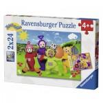 Ravensburger-07804 2 Puzzles - Teletubies