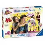 Ravensburger-09782 Riesen-Bodenpuzzle - Soy Luna