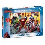 Ravensburger-09783 Riesen-Bodenpuzzle - Avengers
