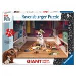 Ravensburger-09785 Riesen-Bodenpuzzle - Secret Life of Pets