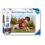 Puzzle  Ravensburger-10023 Schellen Ursli & Zila